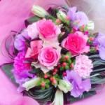 卒業シーズン たくさんの花束をお届けしてます!