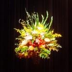 講演会で演台花を飾らせ頂きました。